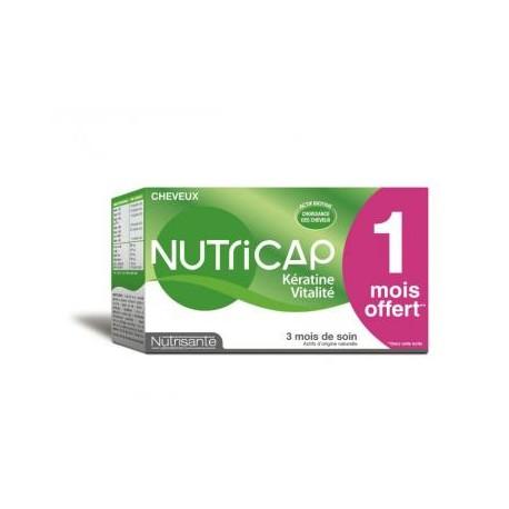 NUTRICAP keratin a vitalita, 90 kapslí