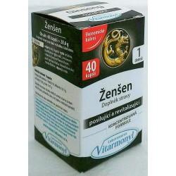 Ženšen – posílení organismu 40 tablet