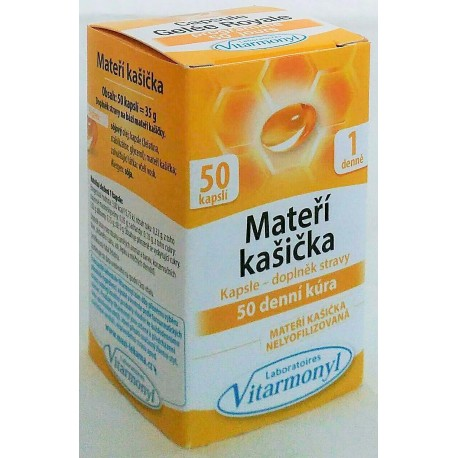 Mateří kašička - posilující 45 tablet